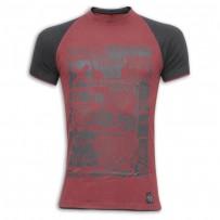 You Me At Six Round Neck T-Shirt SB01 Carmine