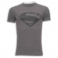 Super Man Round Neck T - Shirt SB10 Grey