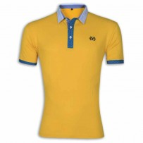 Stylish Polo Shirt YG07P Goldenrod