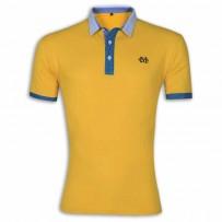 Stylish Polo Shirt YG07P Goldenrod