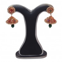 Exclusive EiD Ear ring Collection RA013A. MODEl FLOWER DESIGN JHUMKA.