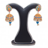 Exclusive EiD Ear ring Collection RA017A. MODEl  JHUMKA.