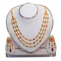 Exclusive EiD Necklece set Collection RA022A. MODEL Short Necklace.