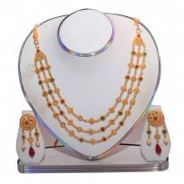 Exclusive EiD Necklece set Collection RA022A. MODEL Short Necklace.