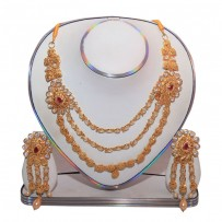 Exclusive EiD Necklece set Collection RA023A. MODEL Short Necklace.
