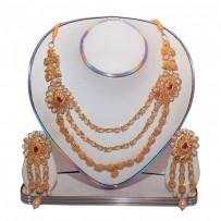 Exclusive EiD Necklece set Collection RA023A. MODEL Short Necklace.
