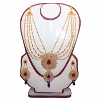 Exclusive EiD Necklece set Collection RA029A. Multi color Necklace set.