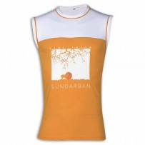 Sundarban Round Neck T - Shirt YG29 Orange