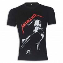 Metallica Round Neck T-Shirt MG18 Black