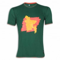 Bangladesh Round Neck T – Shirt YG37 Green