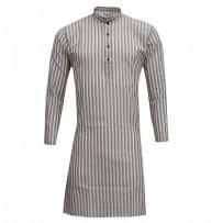 Exclusive Raw Silk Stripe Punjabi SB60P Multi