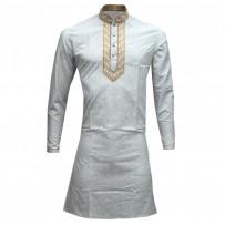 Exclusive  Cotton Punjabi SB48K Off White