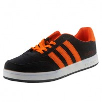 Adidas Campus Casual Replica Shoes Black Orange