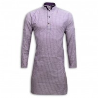 Exclusive Stripe Eid Panjabi SB09E Purple