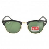 Ray-Ban Club Master  RB 3016 Polarized Black-Green Replica Sunglasses