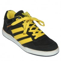 ADIDAS Shoe FS006 Black with Yellow