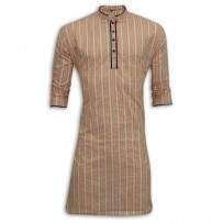Exclusive Stripe Eid Panjabi MG16E Multi