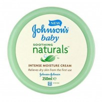 Johnson's Baby Soothing Naturals Intense Moisture Cream 250ML