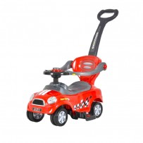 Baby's Auto Push Car Red BPC02