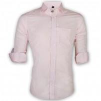 LAVELUX Premium Slim Solid Cotton Formal Shirt LMS152