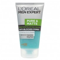 L'Oreal Paris Men Expert Pure & Matte Scrub Face Wash 150ML