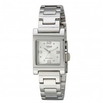 CASIO Enticer Analog White Dial Women's Watch LTP-1237D-7ADF