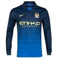 Manchester City Away Full Sleeve Jersey 2014-15