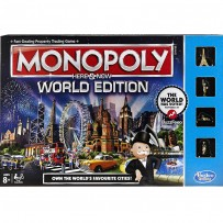 Funskool Monopoly -Here & Now World Edition Board Game