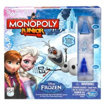 Funskool Monopoly - Junior Disney Frozen Edition Board Game