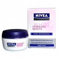 Nivea Visage Sparkling White Pore Minimizing Night Cream 50 ML