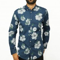 OBTAIN Premium Slim Fit Printed Casual Shirt OL722