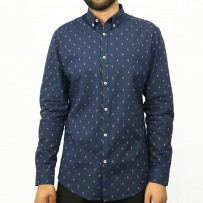 OBTAIN Premium Slim Fit Printed Casual Shirt OL723