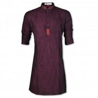 Eid Exclusive  Maroon Slab Embroidery Panjabi JP113
