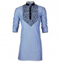 Eid Exclusive Oxford Nib  With Flok Crafted Panjabi JP174