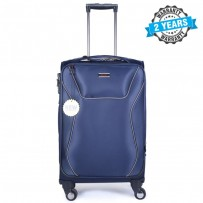 PRESIDENT 22 inch Expandable Soft Case Suitcase Luggage Blue PBL717
