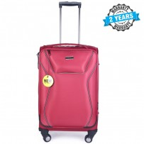 PRESIDENT 22 inch Expandable Soft Case Suitcase Luggage Pink PBL718