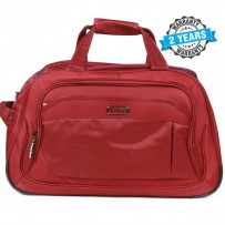 President Travel Bag Large Capacity Simple Red Travel Bag