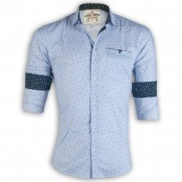 PRODHAN Pure Cotton Casual Spinal Printed Shirt PC258