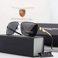 Exclusive  Porsche Design Sunglass - P'8712 Golden Replica Edition