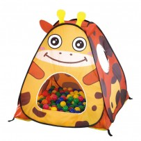 My Dear Tame Giraffe Ball House With 50 Soft Flex Balls  AJC206