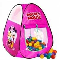 Mickey Mouse Classic Play Tent With 50 Soft Flex Balls  DMT102