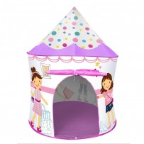 Modern Princess Play Tent With 50 Soft Flex Balls AJC205