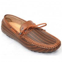 Men's Faux Lather Loafer FFS231- Brown