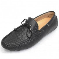 Men's Faux Lather Loafer FFS232- Black