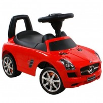 Mercedes Benz Push Car 332- White/Red