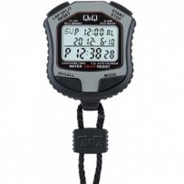 Q&Q HS45J002Y Grey Digital Stop Watch