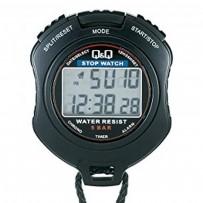 Q&Q HS47J001Y Handheld Stopwatch