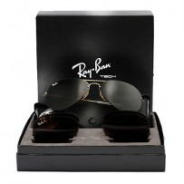 Ray-Ban Flip-Out RB 3460 Aviator Gold Large Metal Replica Sunglass