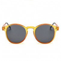 Vintage Orange Circle UV400 Trending Sunglasses RB704