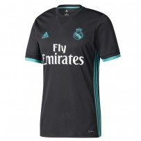 Real Madrid Half Sleeve Away Jersey 2017-18